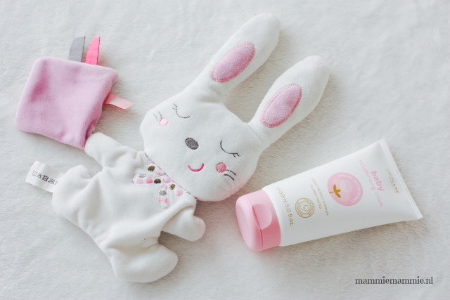 verzorgingsproducten gevoelige huid baby