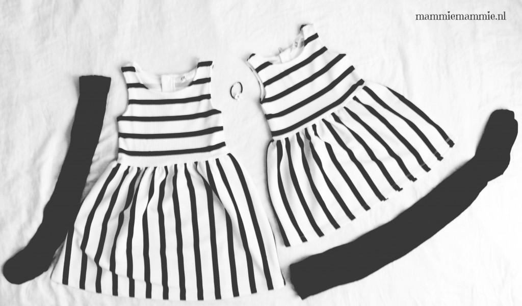 Zusjes H&M jurkjes