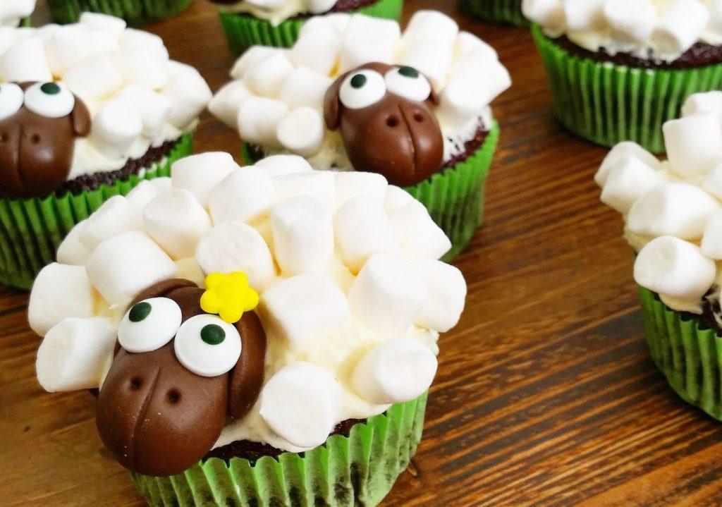 eid schaapjes cupcakes