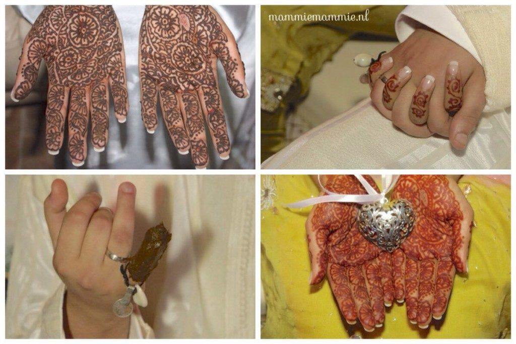henna feest bruiloft
