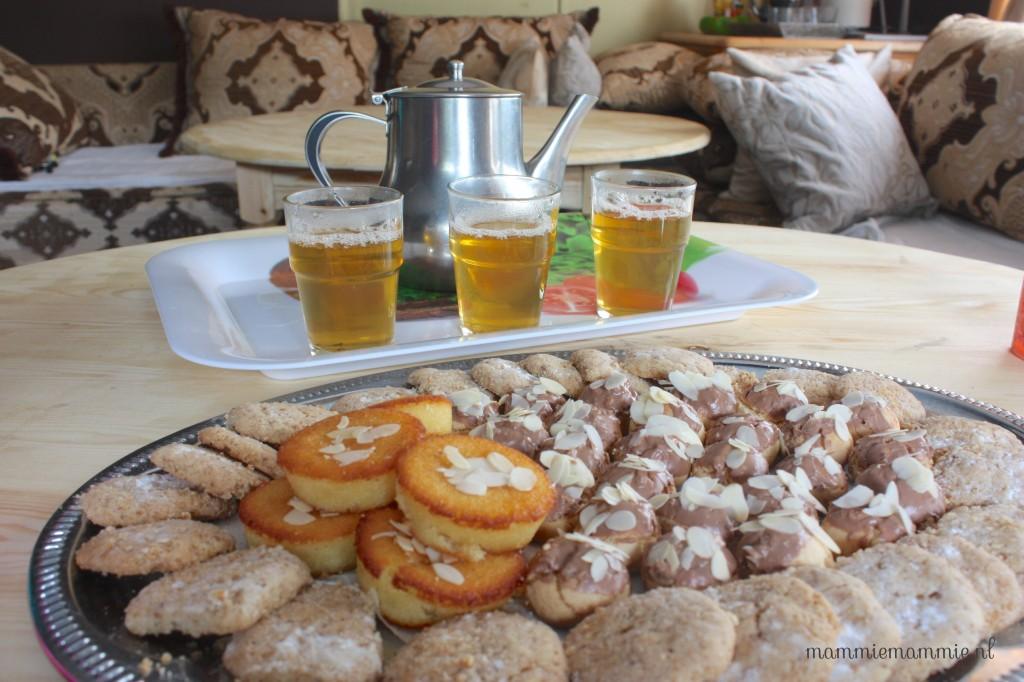 Marrokaanse thee en koekjes