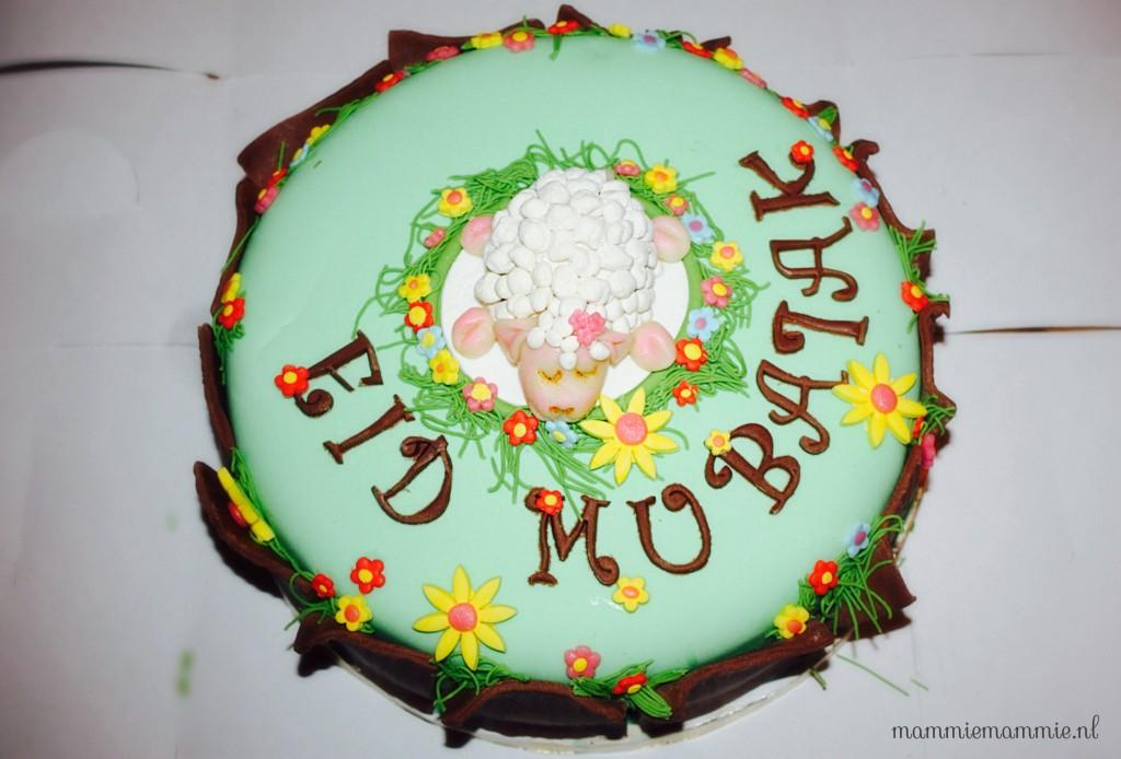 Eid taart blog mammiemammie.nl