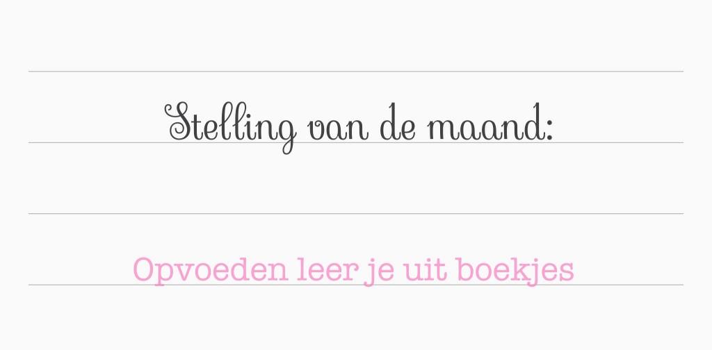 Week van de opvoeding mama blog mammiemammie.nl