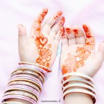 henna toddler mendhi simple