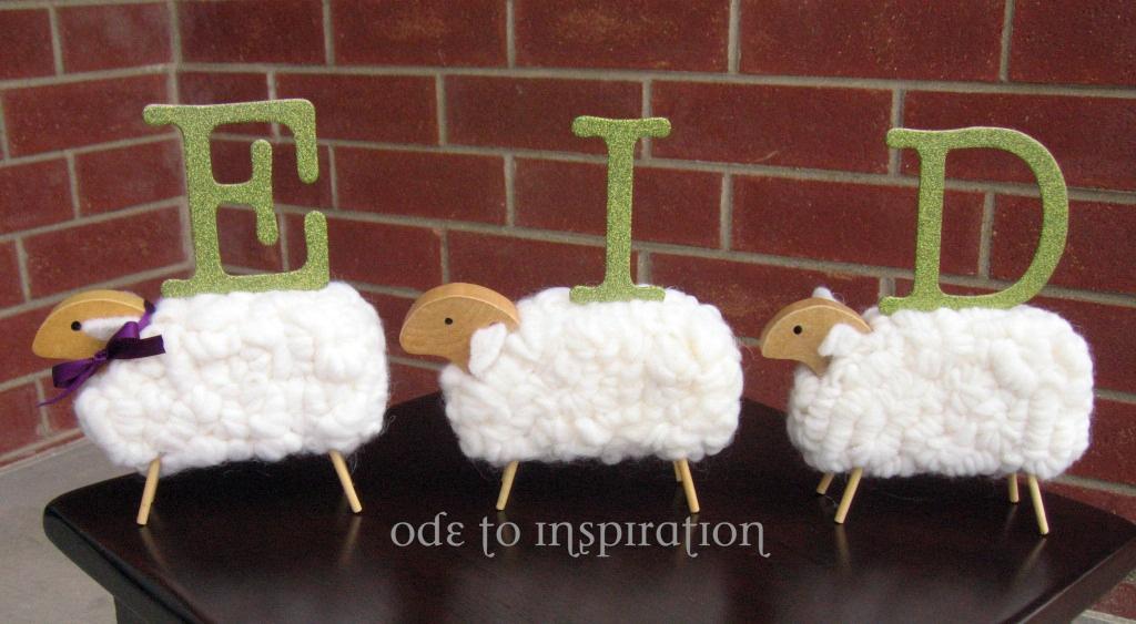 Eid decoratie schaap