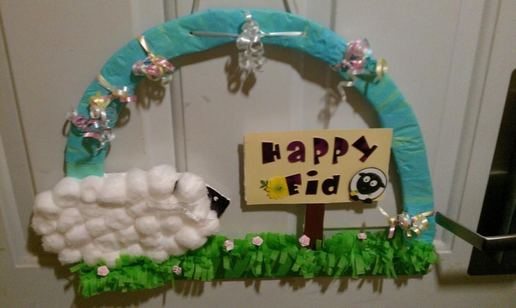 Knutselen Eid Adha