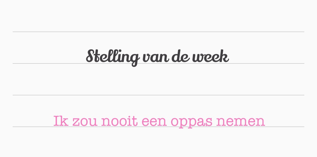 Stelling opvoeding