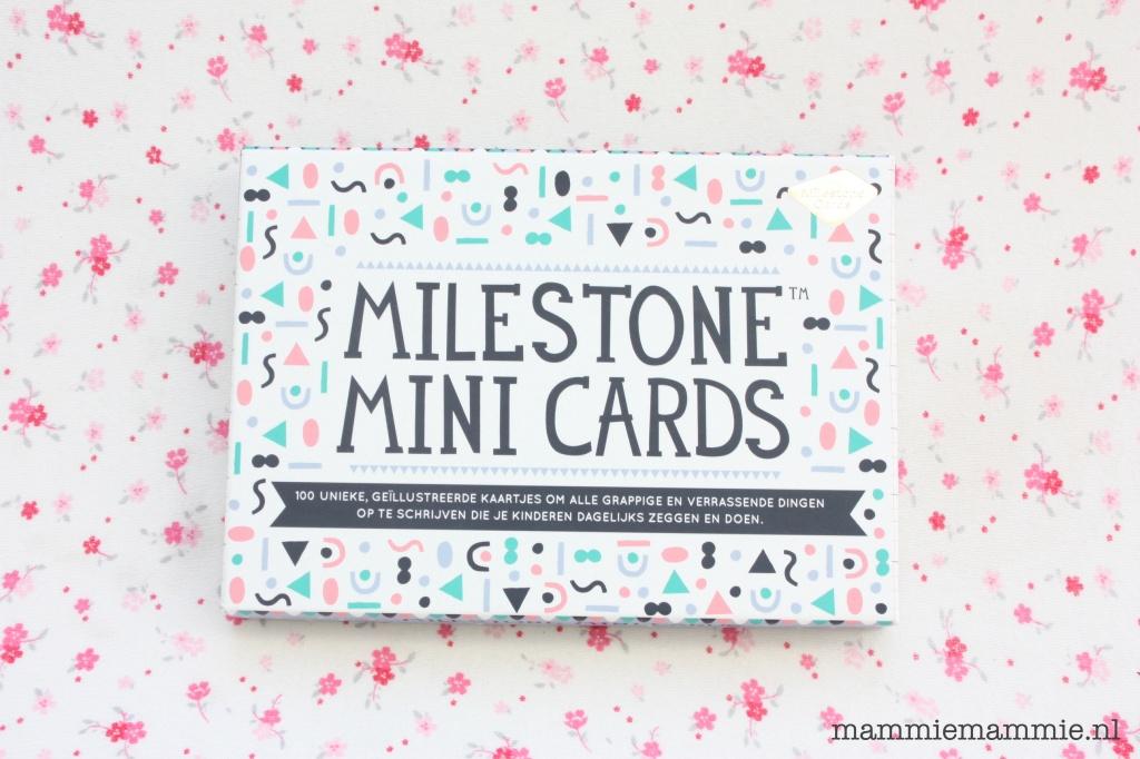 Review milestone mini cards