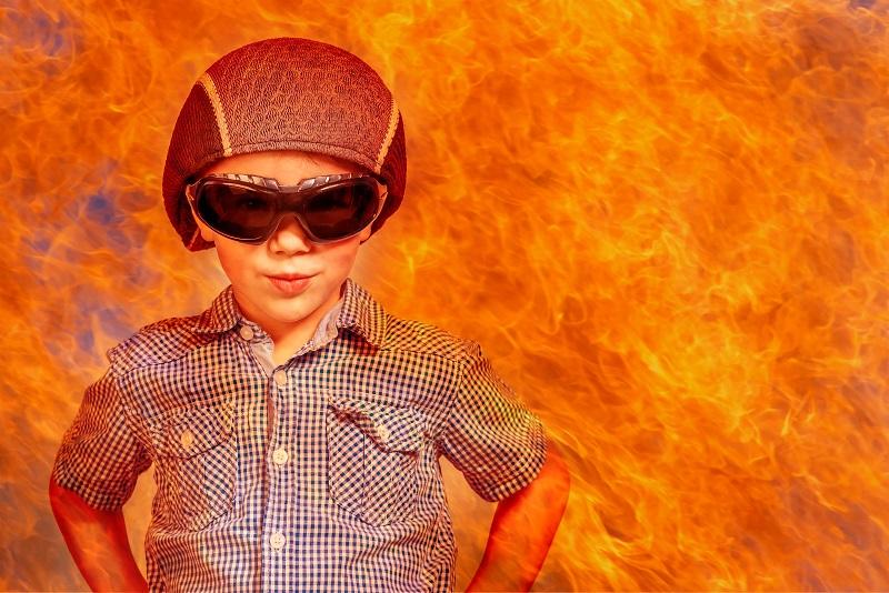 brandveiligheid bescherm je kinderen in huis