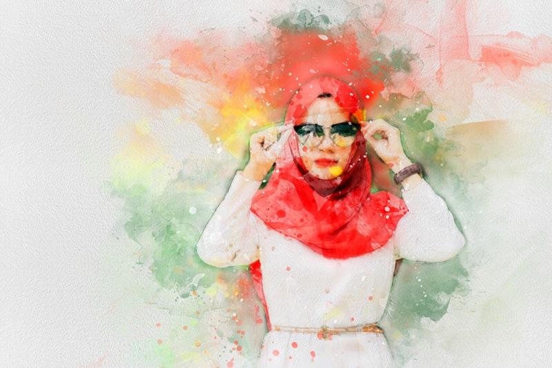hoofddoek dragen ervaring