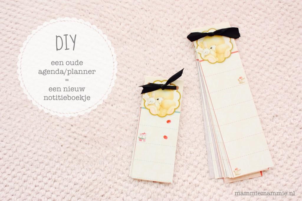 DIY een notitieboekje maken
