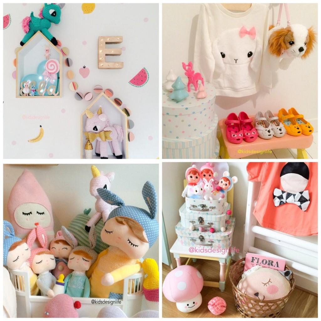 Kinderkamer decoratie kleurrijk