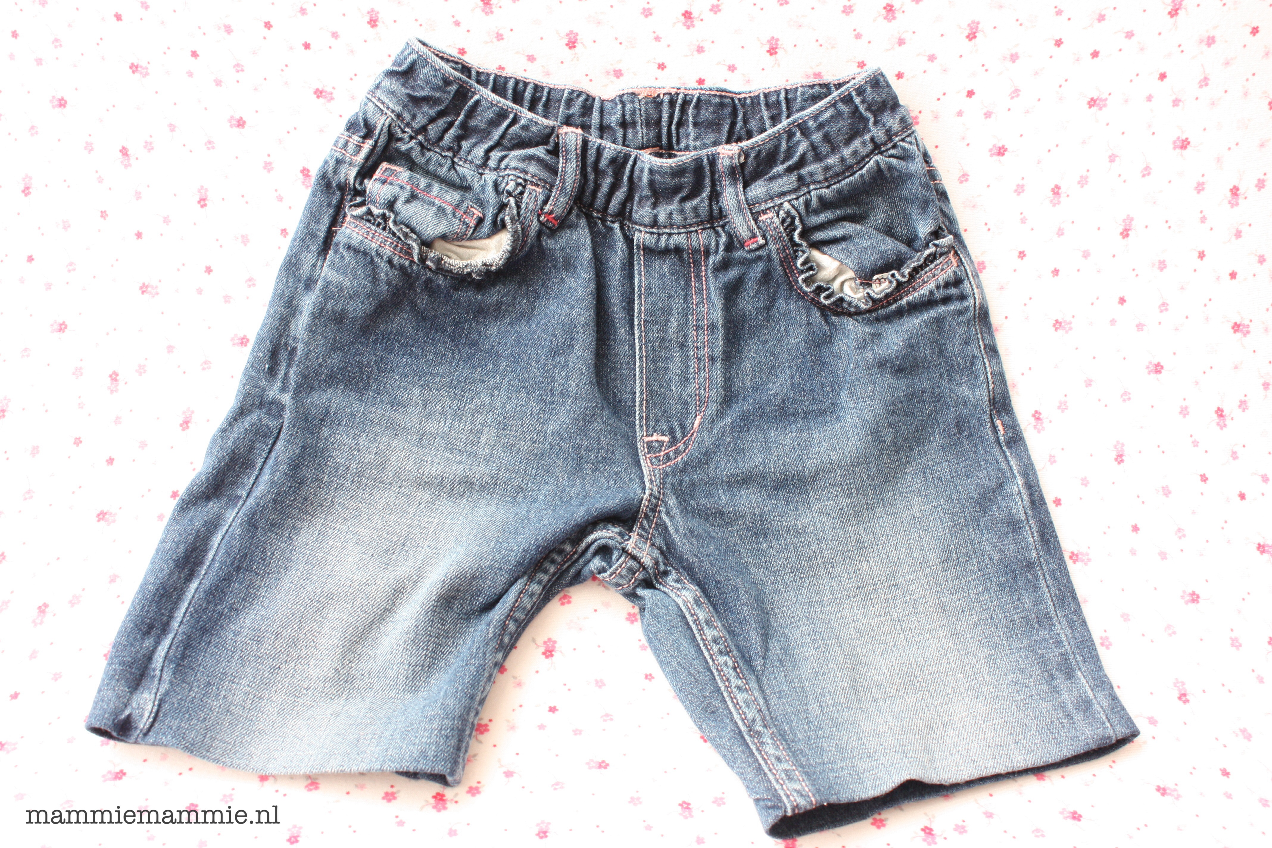 hoe verkort je een broek