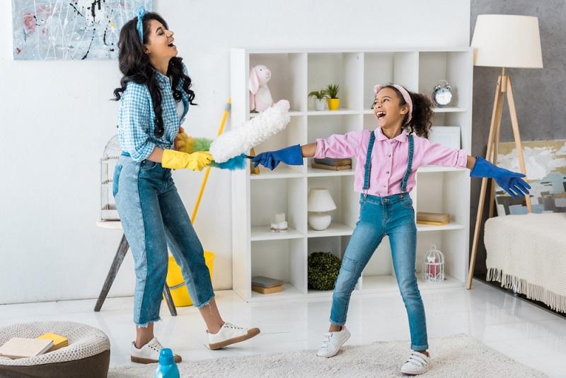 huishoudklussen voor kindeen