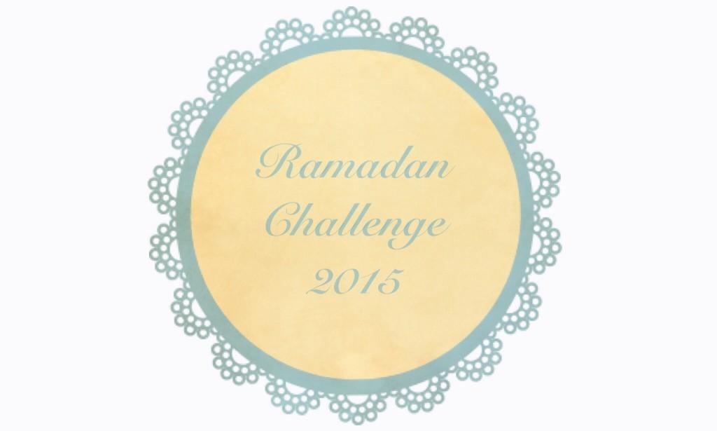 Oproep: Ramadan Challenge #ramadanchallenge2015