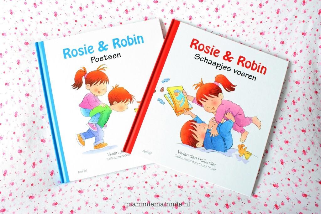 Rosie en robin kinderboek