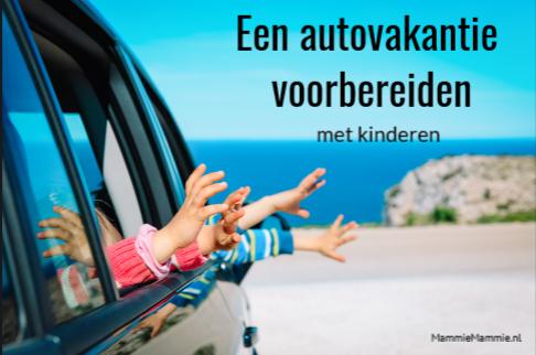 autovakantie met kind voorbereiden