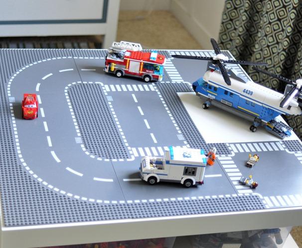Ikea Slaapkamer Kind : LEGO Road Plates