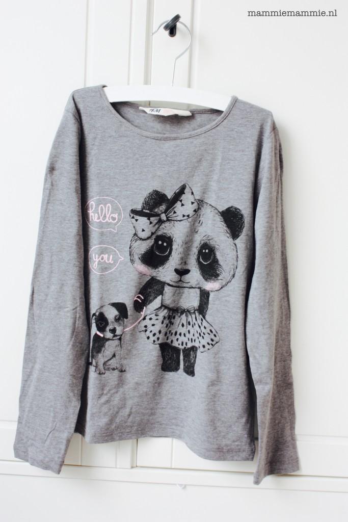 H&M meisjes shirt print