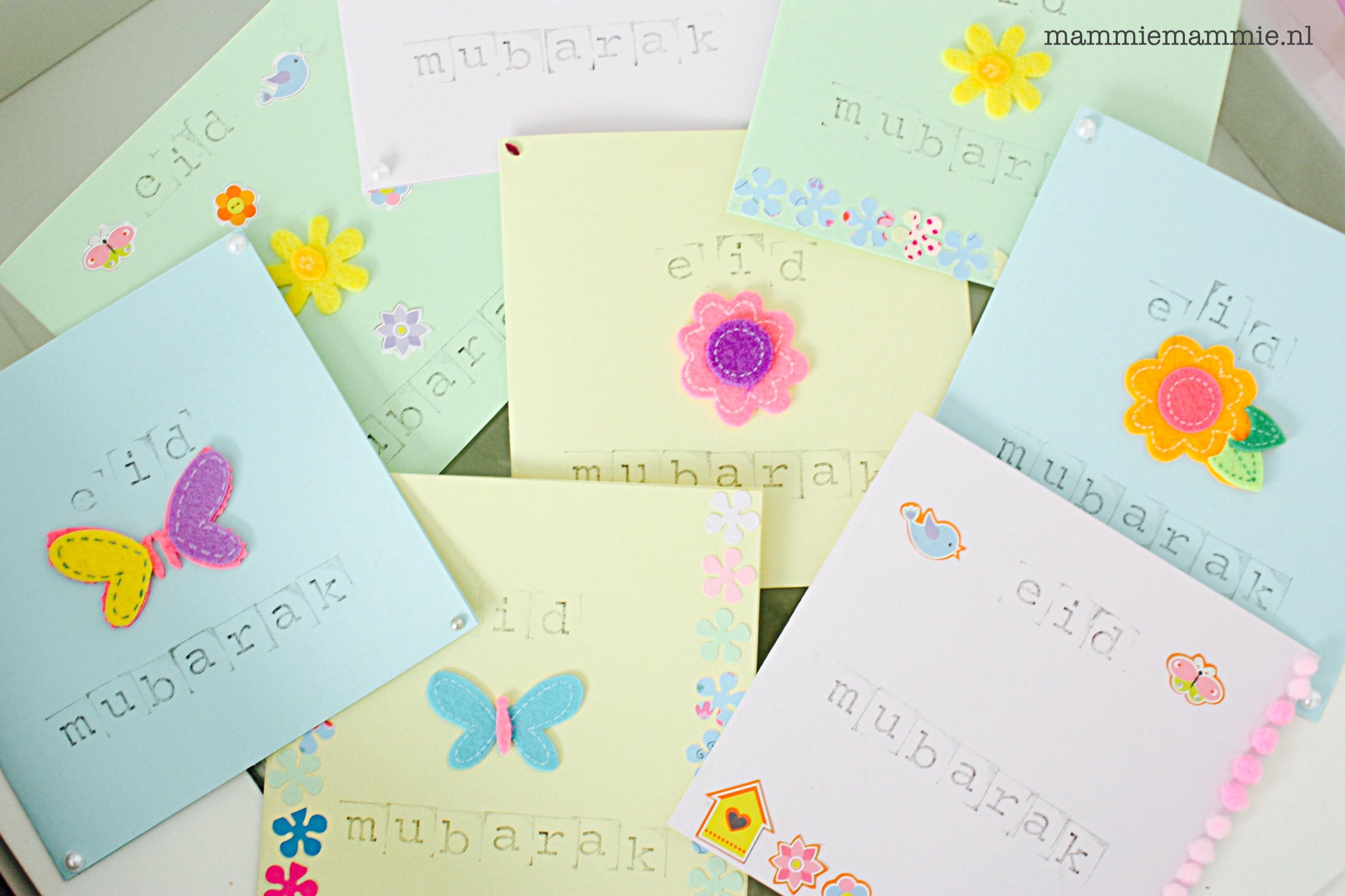 Eid kaarten maken