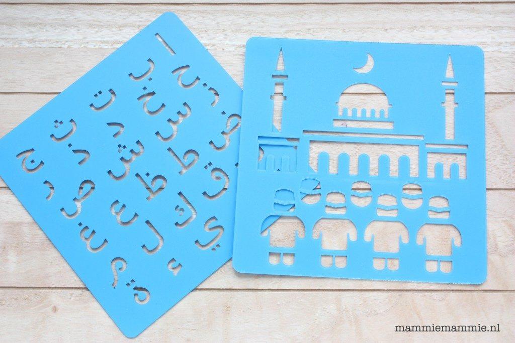 arabische letters tekenen