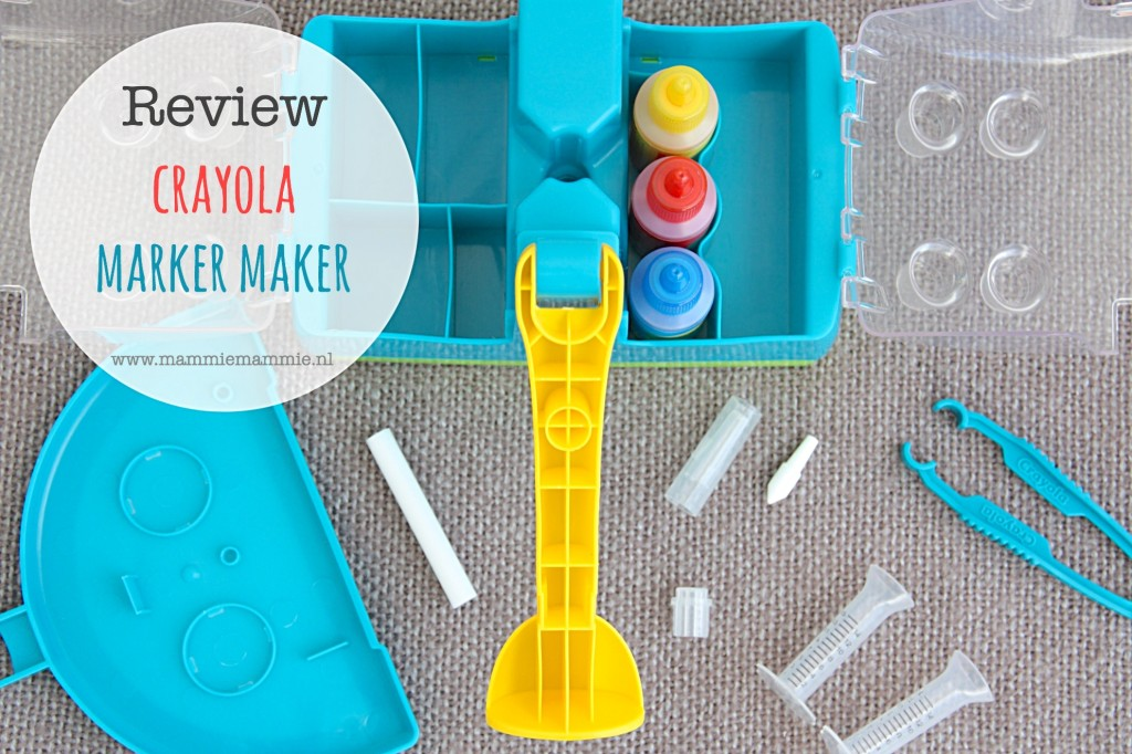 Review crayola marker maker
