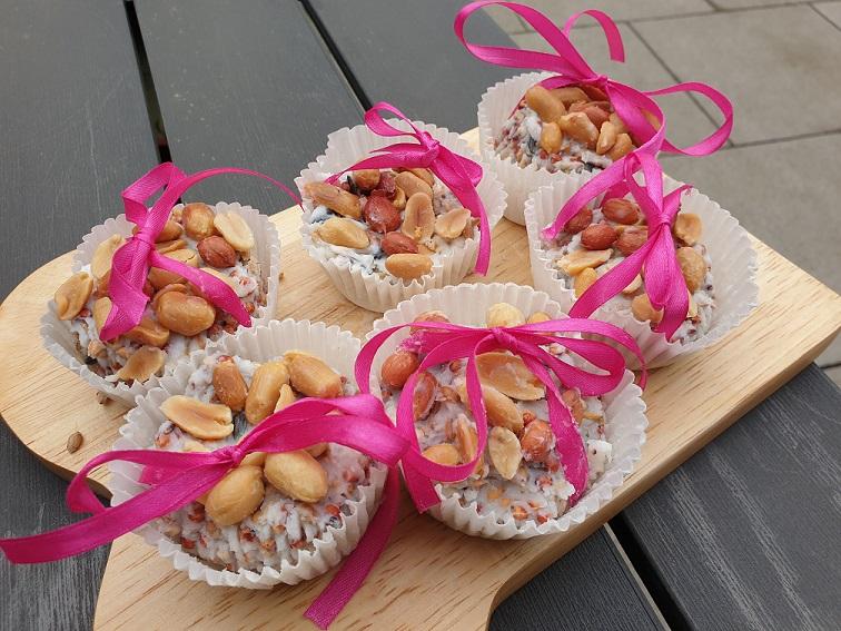 vogel cupcakes maken