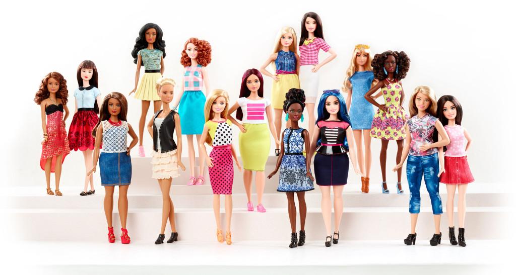 de nieuwe barbie poppen