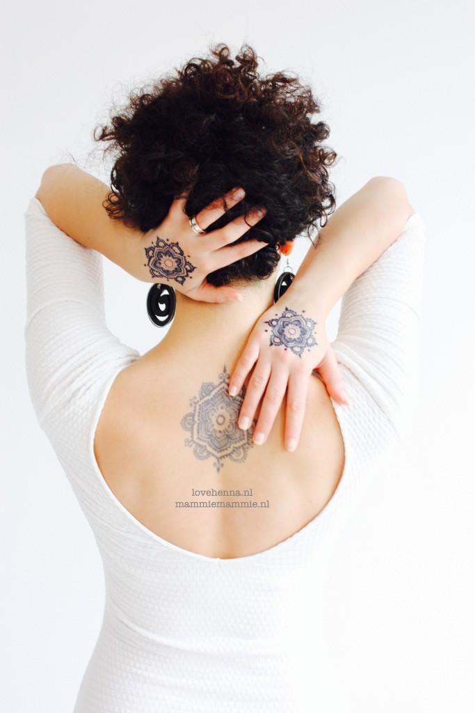 Henna Jagua on back