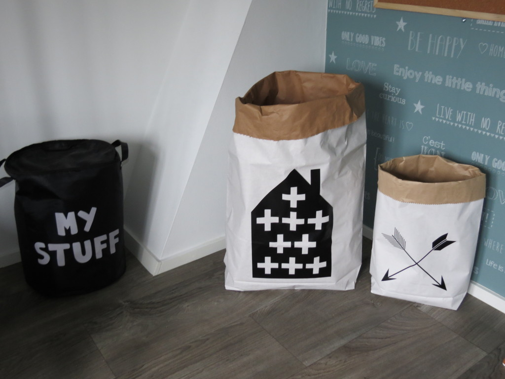 papieren zakken voor speelgoed