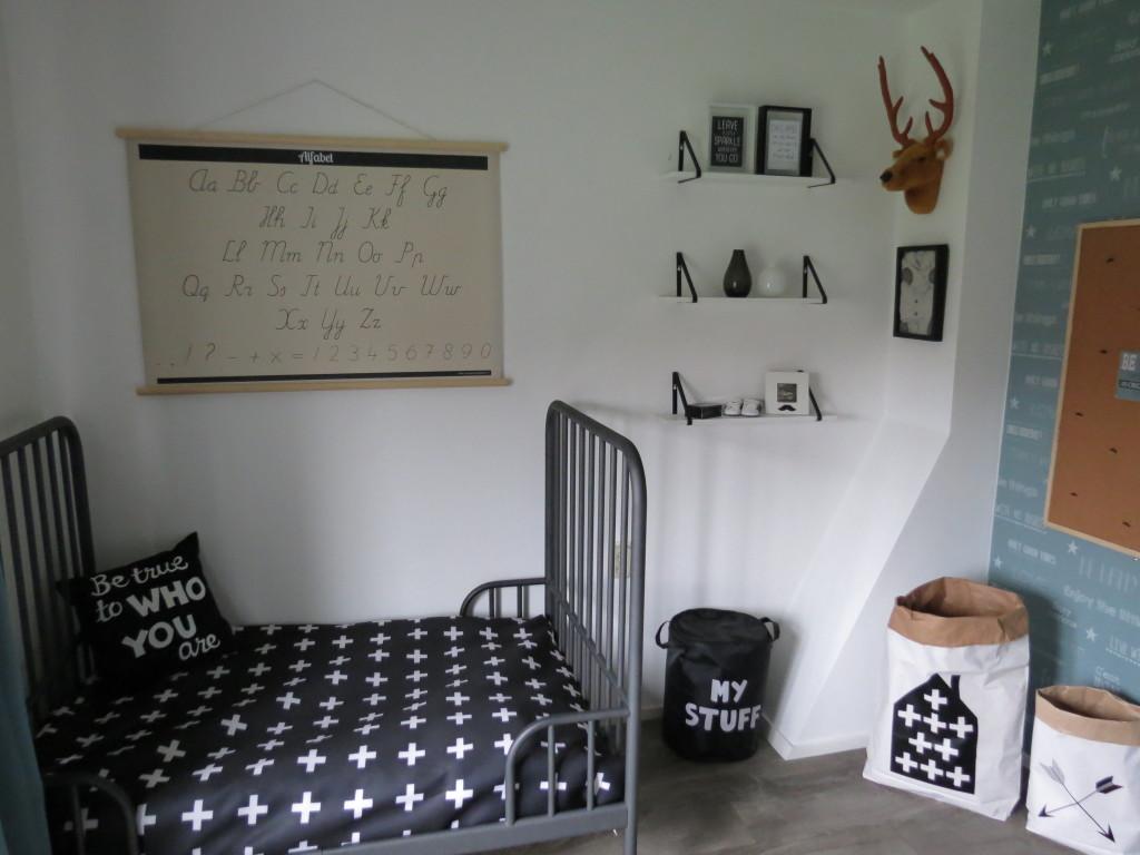 scandinavische kamer voor jongens