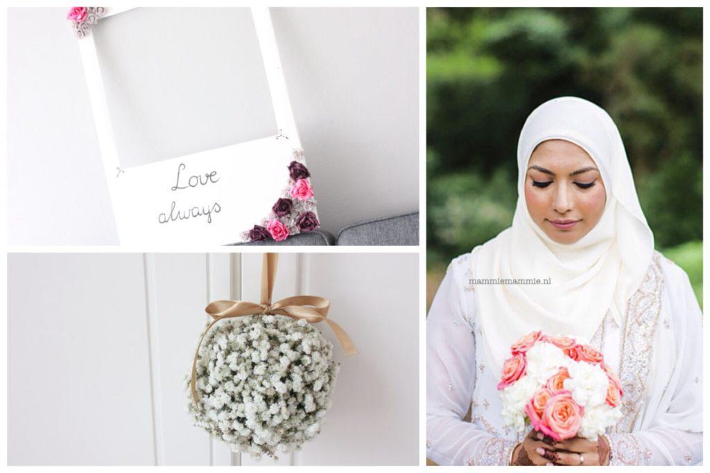 Bruid met hijaab