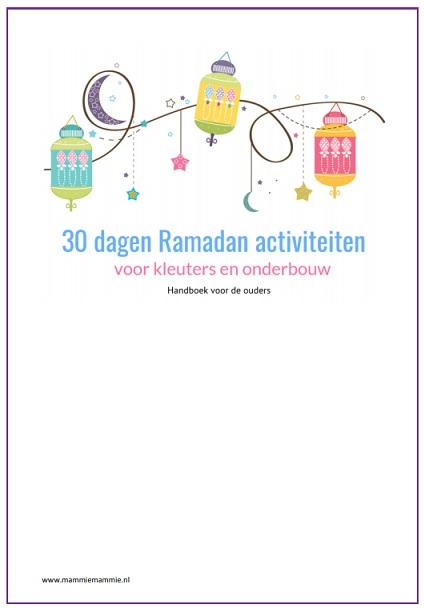 30 dagen activiteiten ramadan kleuters