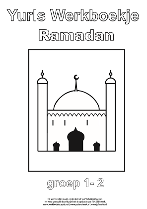 Ramadan werkboek kleuters