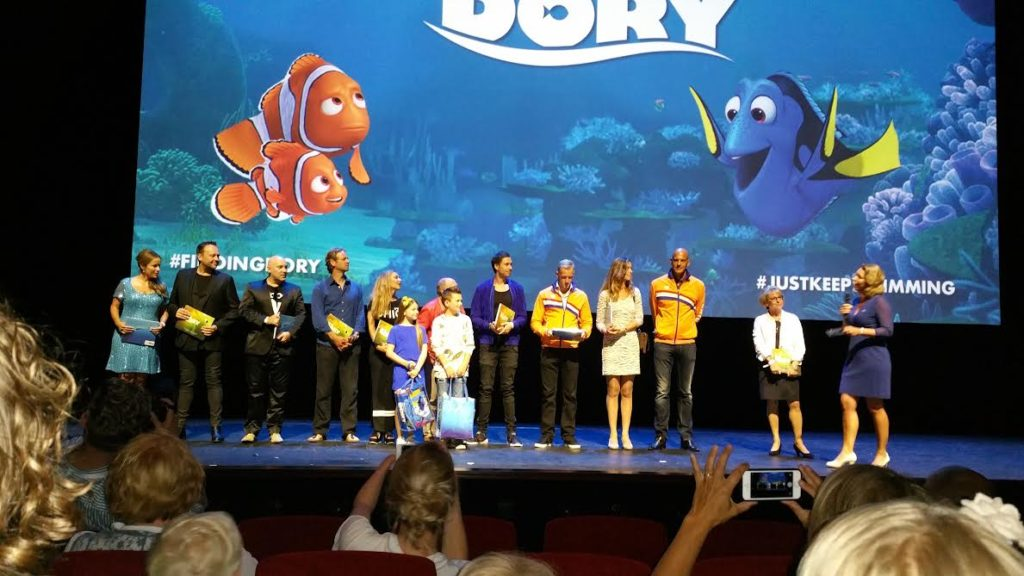 cast finding dory nederlands