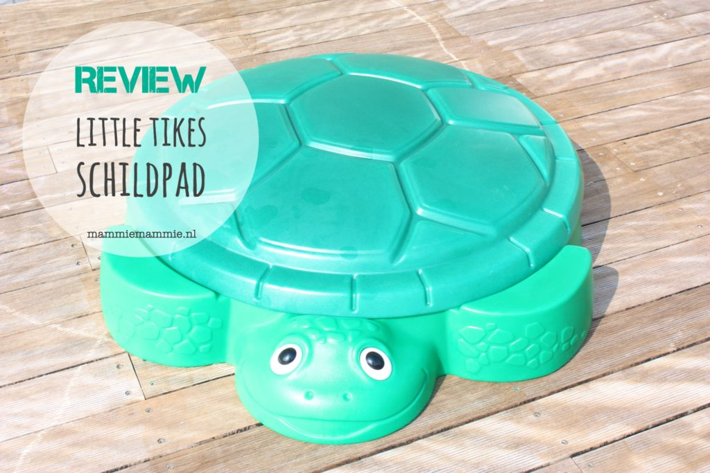 Review little tikes schildpad zandbak