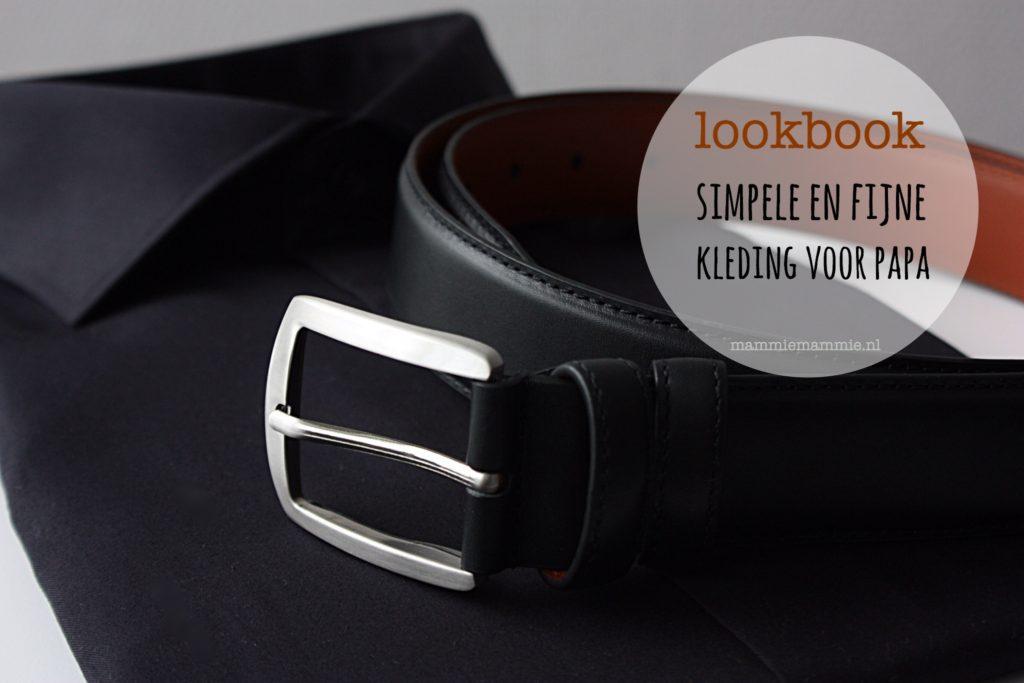 Lookbook simpele look voor mannen