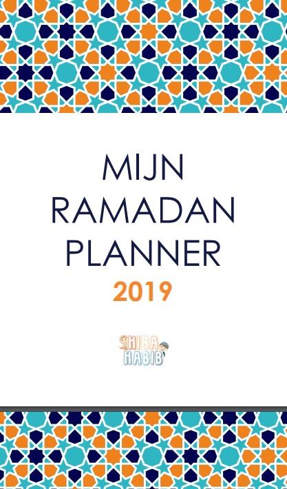 ramadan planner tieners
