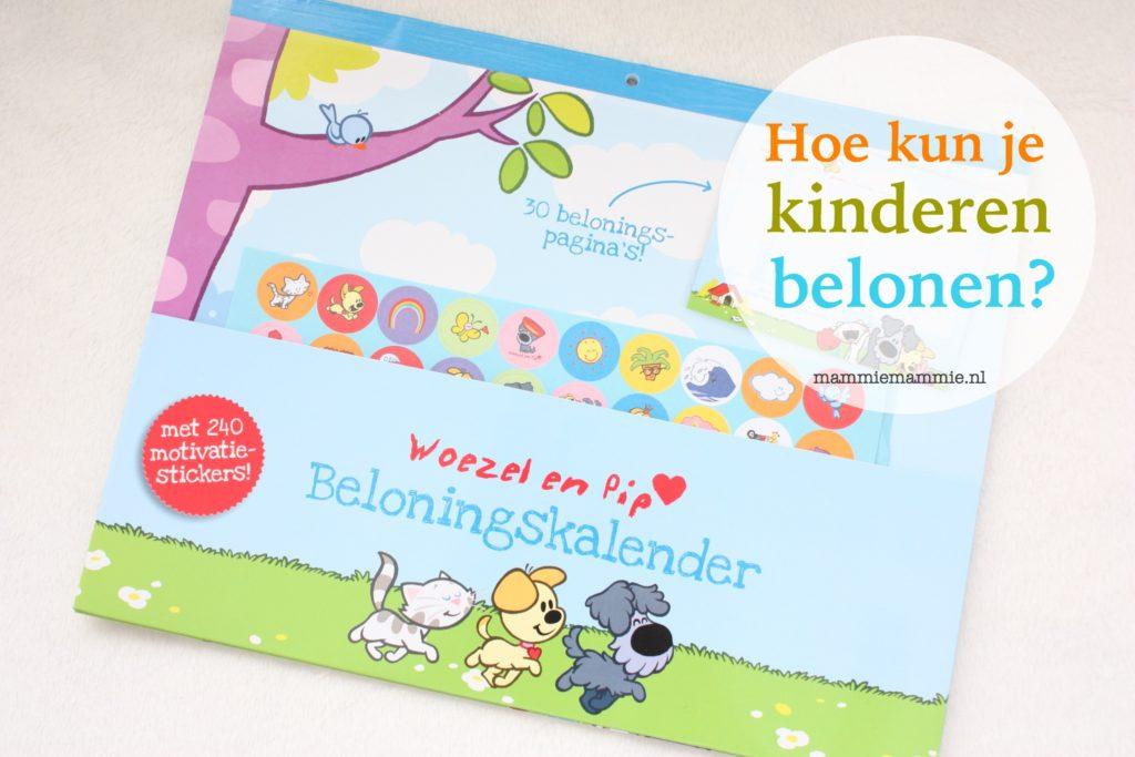 Kinderen belonen met stickers