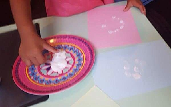 Eid slinger maken met kinderen
