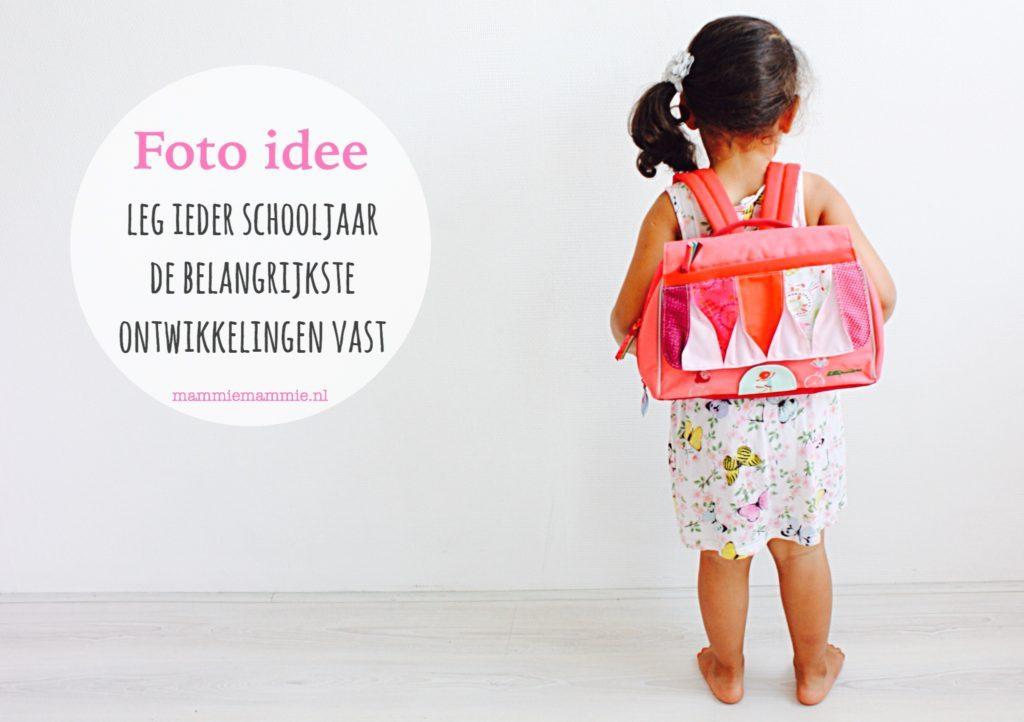 Foto idee | Leg alle mijlpalen vast met 1 foto