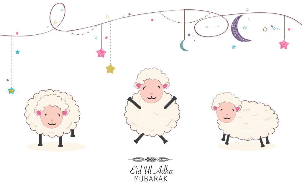 Eid Mubarak! Het is Offerfeest