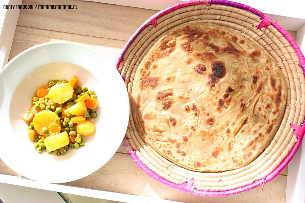 Indiase vegetarische gerechten
