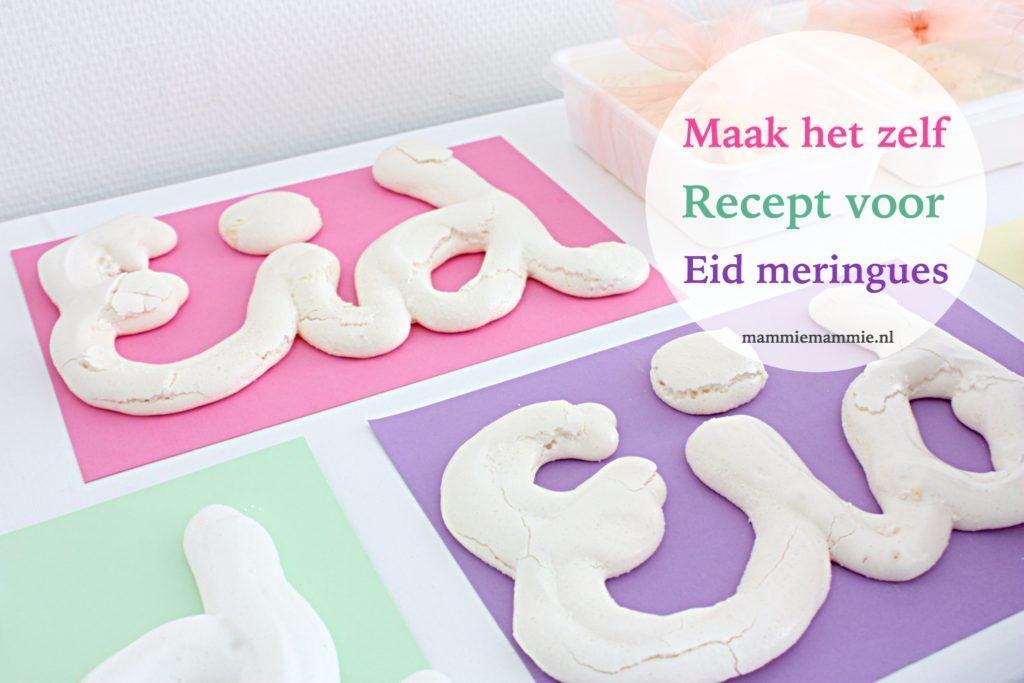 Eid Meringues maken