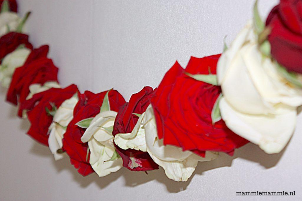 rozenkrans-maken