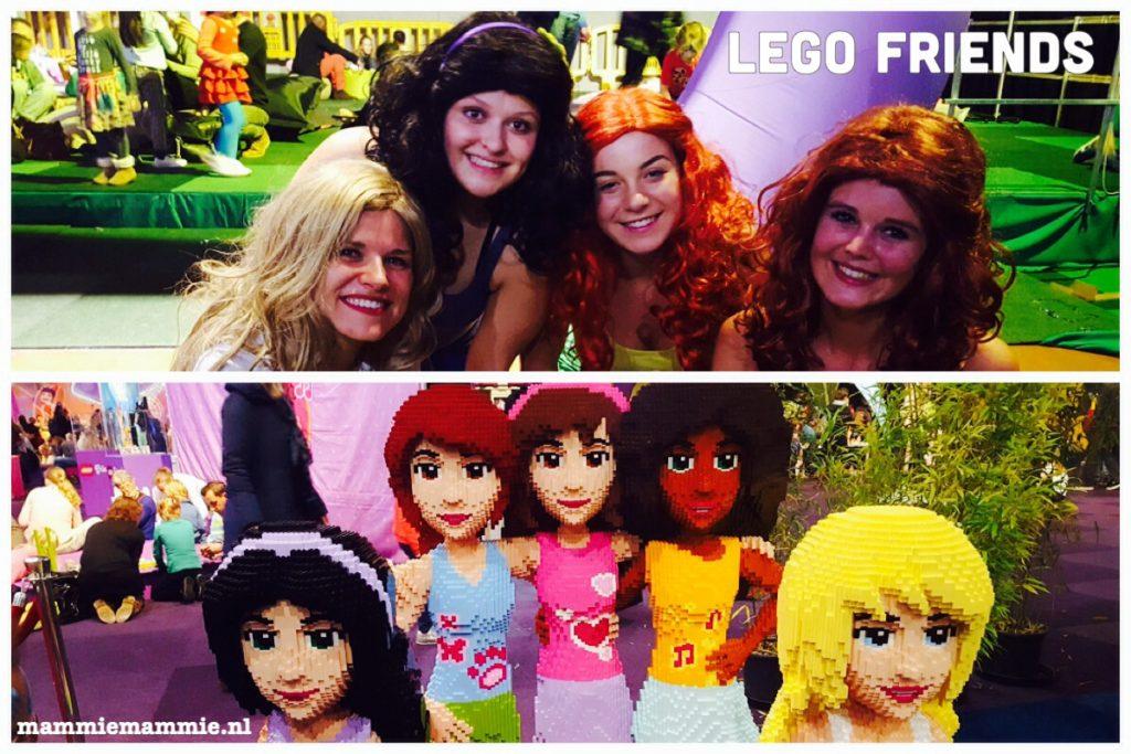 De echte Lego friends