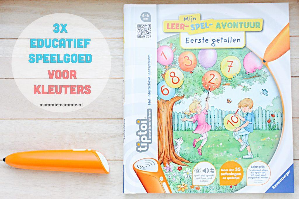 3x educatief speelgoed voor kleuters
