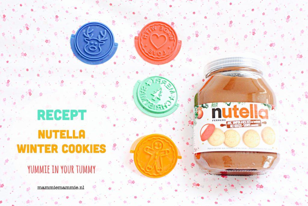 Kerstvakantie tip | Recept voor lekkere Nutella koekjes
