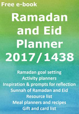 Ramadan Planner Happy muslimah
