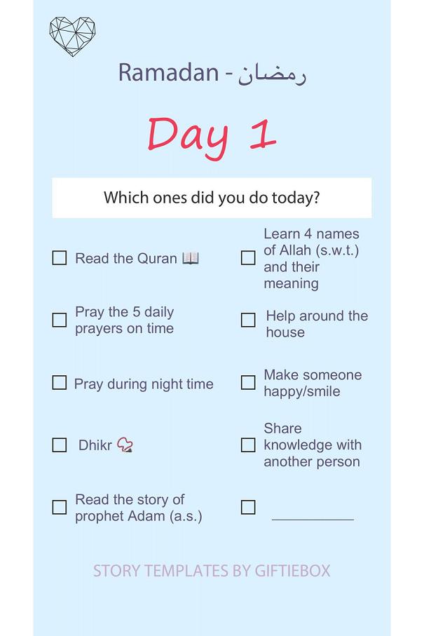 dayplanner ramadan english